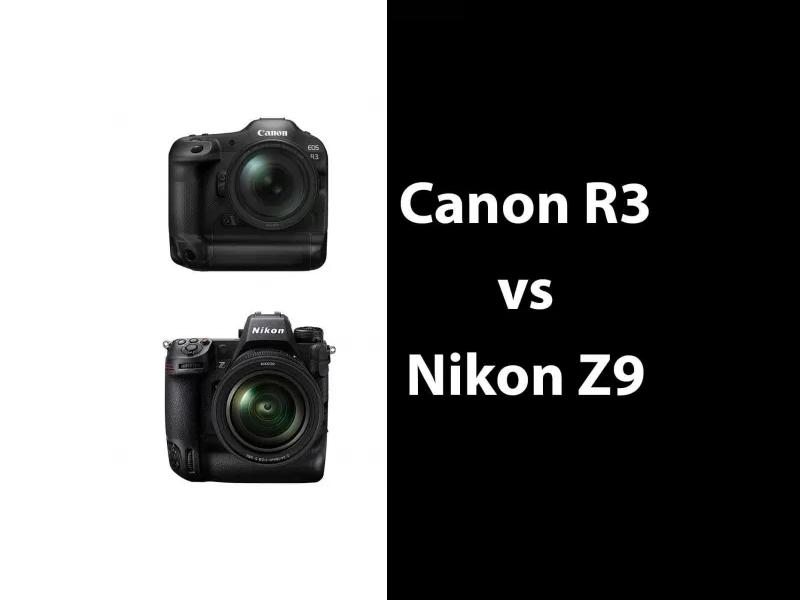 Canon R3 vs Nikon Z9