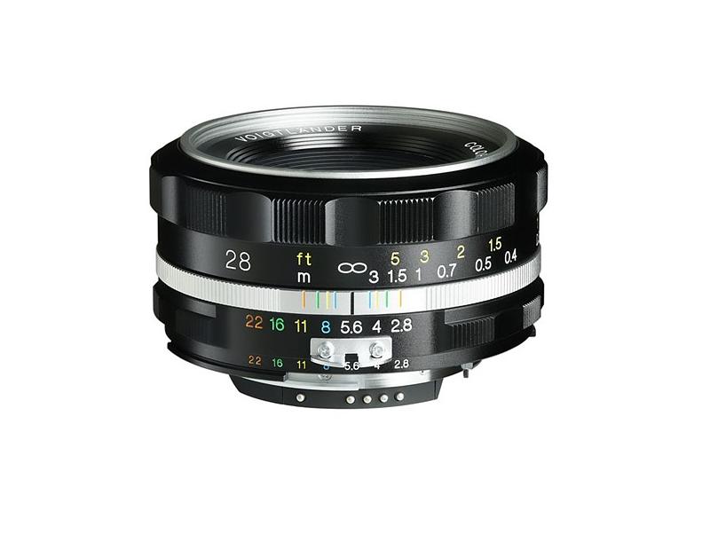 Voigtlander 28mm F2.8 Aspherical lens