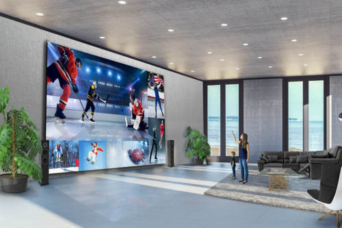 LG's mammoth Extreme Home Cinema Displays come in screen sizes up to 325 inches