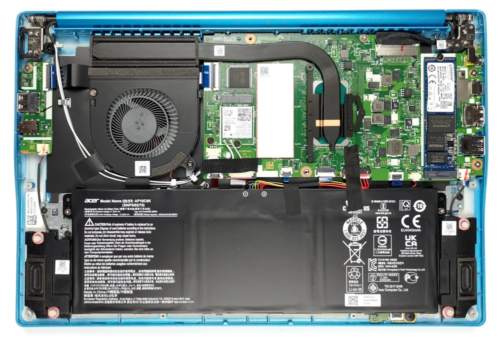 Inside Acer Swift 3 (SF314-59) – disassembly and upgrade options