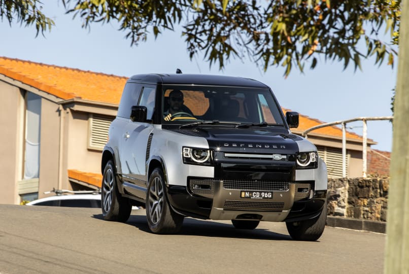2022 Land Rover Defender 90 P400 X