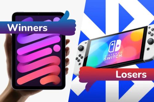 Winners and Losers: iPad Mini 6 stuns, and Nintendo Switch's Bluetooth fiasco