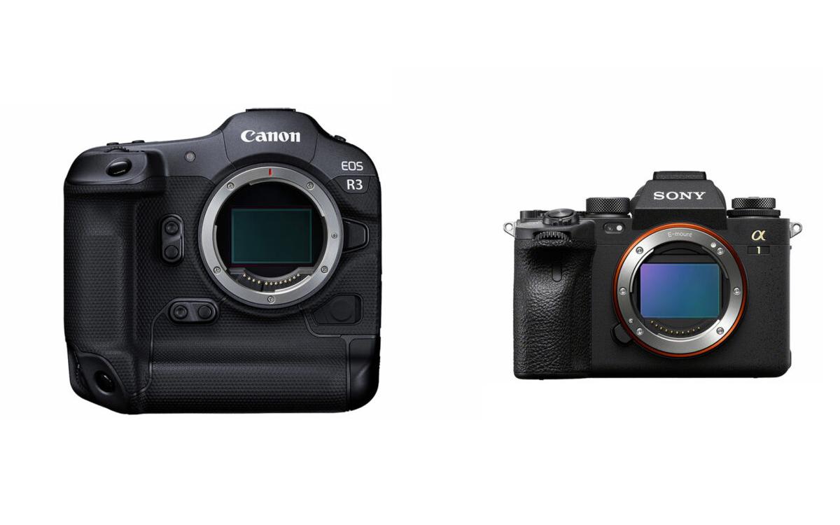 Canon EOS R3 vs Sony A1