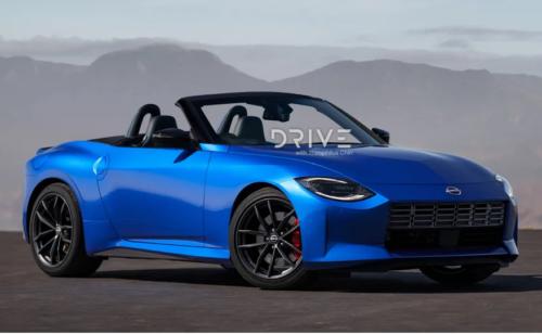 2022 Nissan Z Roadster imagined