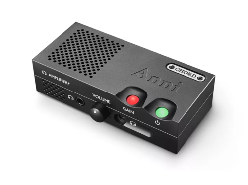 Chord Anni is a dinky desktop amplifier for both headphones and speakers