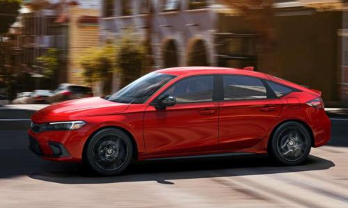 2022 Honda Civic Hatchback Costs $1000–$1900 More Than Sedan
