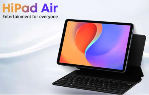 HiPad Air Premieres with Mali G52 850MHz Gaming GPU