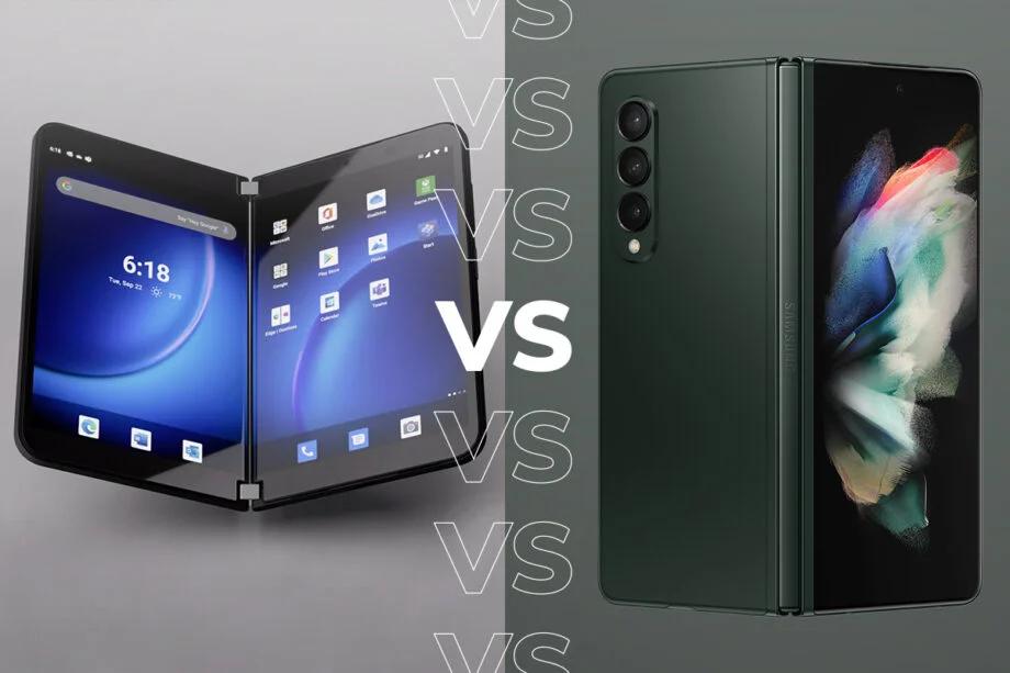 Surface Duo 2 vs Galaxy Z Fold 3