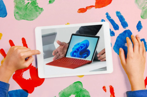 The Surface Go 3's gonna have a tough time getting kids off their iPads