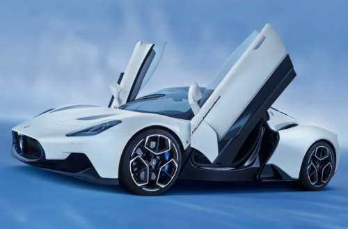Maserati MC20 wins 2021 Product Design of the Year Award