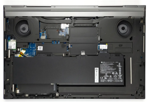 Inside HP ZBook Fury 17 G7 – disassembly and upgrade options