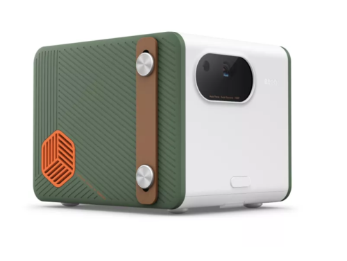 BenQ GS50 outdoor portable projector looks ready for the road