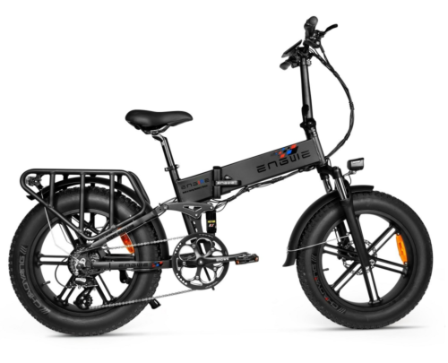 ENGWE ENGINE PRO Folding Electric Bike 750W Fat Tire Review