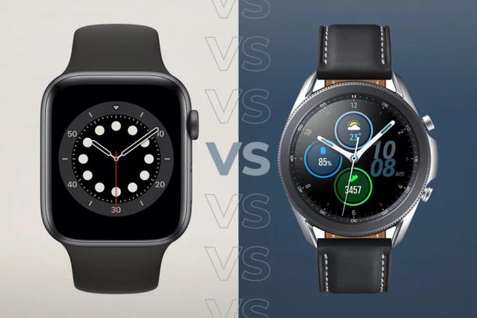 Apple Watch 6 vs Samsung Galaxy Watch 3