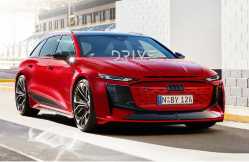 2025 Audi RS6 E-Tron Avant imagined: 530kW electric super-wagon on the cards