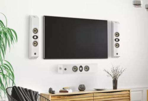 Focal's On Wall 300 speakers are designed to free up floorspace