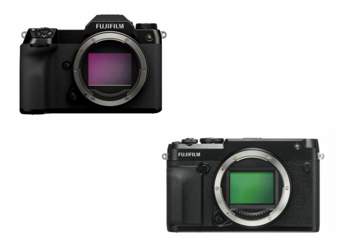 Fujifilm GFX 50S II vs 50R