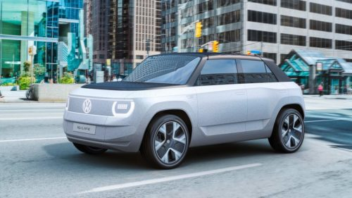 VW ID.LIFE concept has a built-in projector and games console — just what every car needs