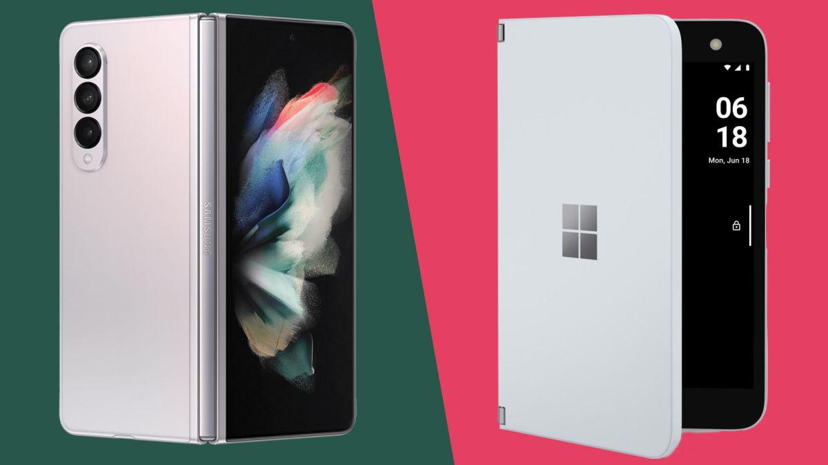 Samsung Galaxy Z Fold 3 vs Microsoft Surface Duo