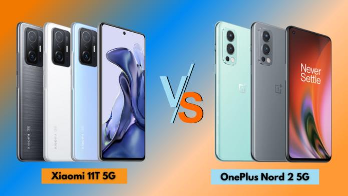 Xiaomi 11T 5G vs OnePlus Nord 2 5G