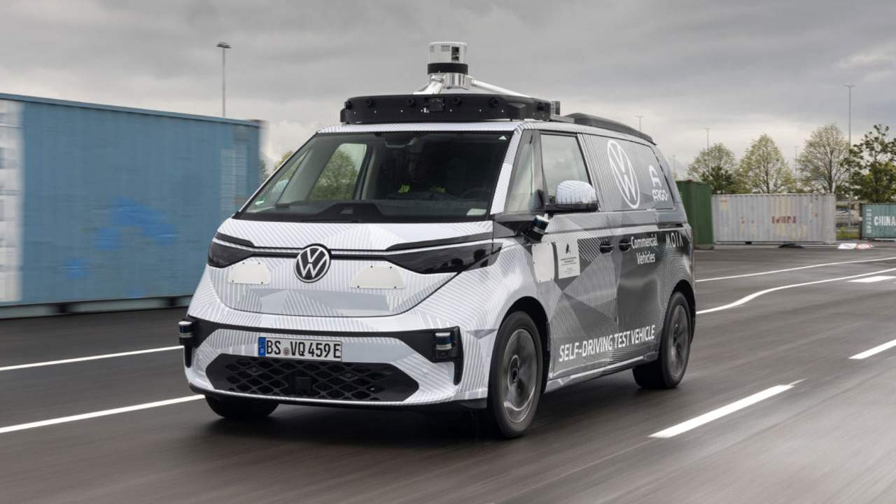 Argo AI and VW self-driving test vehicle