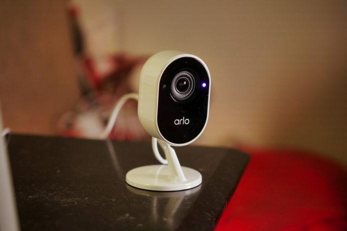 Arlo Essential Indoor Security Camera