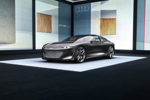 Audi's Grandsphere Concept Is a Rolling Electric-Powered Living Room
