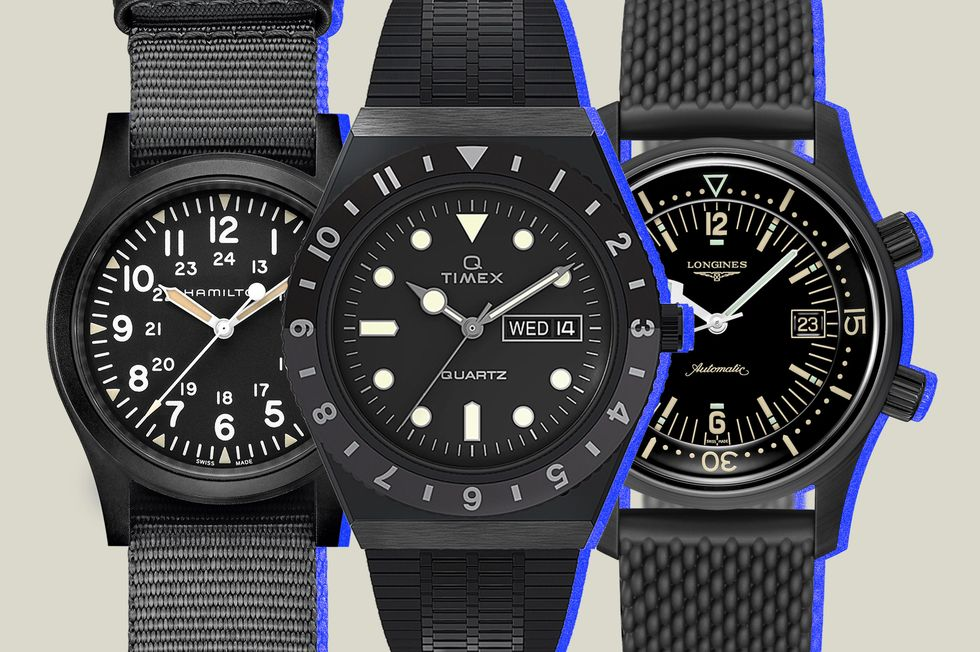 All-Black Watches
