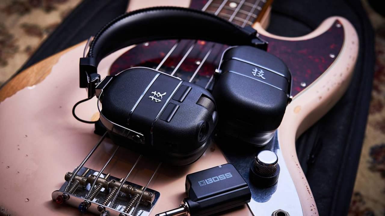 Boss Waza-Air Bass headphones
