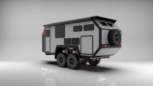 Bruder EXP-8 is a rugged and luxurious camping trailer