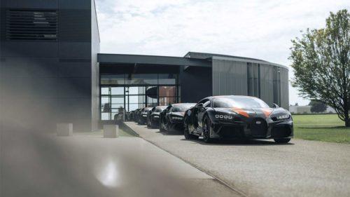 Bugatti Chiron Super Sport 300+ cars are ready for delivery