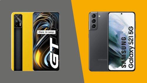 Samsung Galaxy S21 vs Realme GT: small wonders, big value
