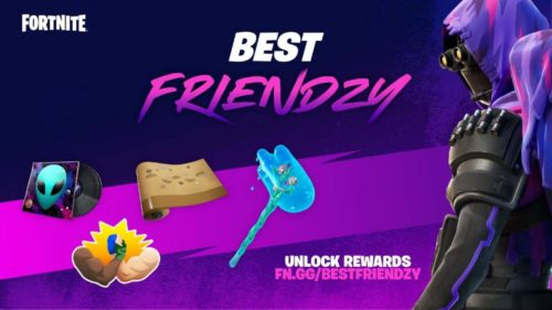 Fortnite Best Friendzy offers teammates free rewards they win together