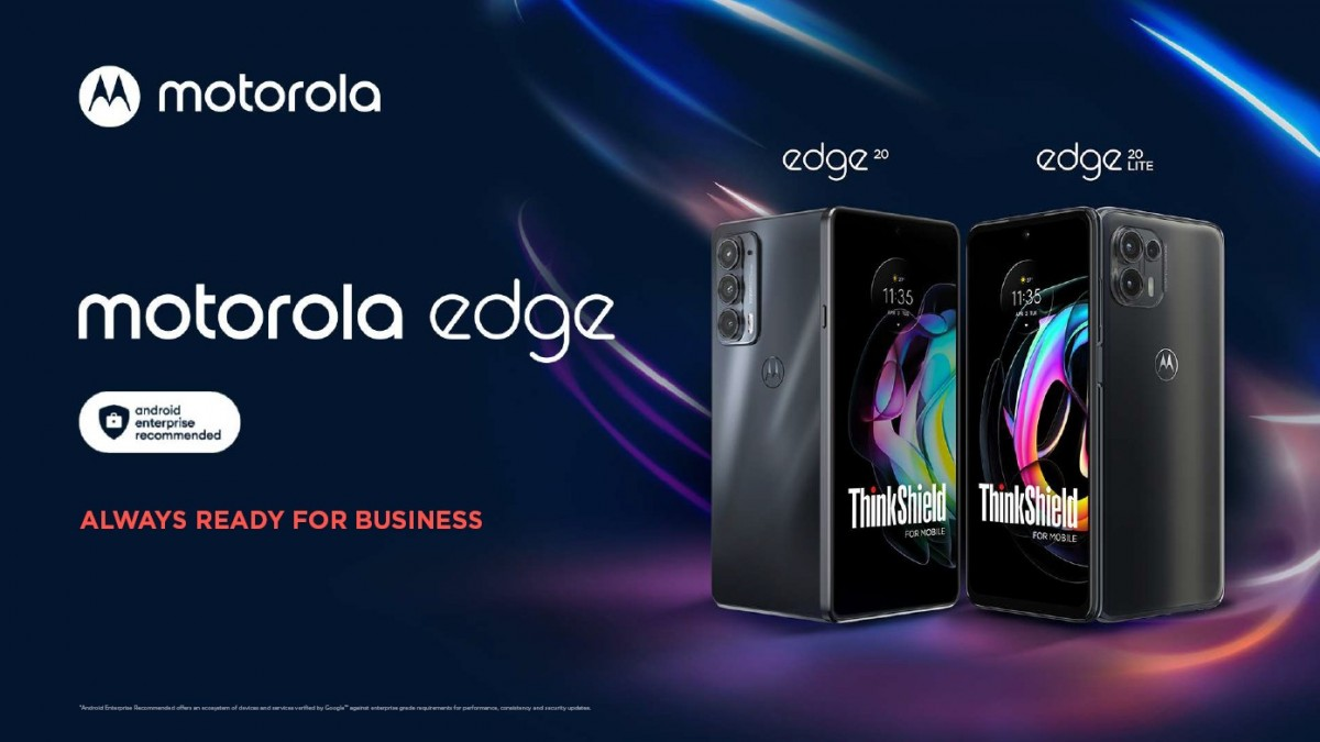 Motorola Business Edition versions