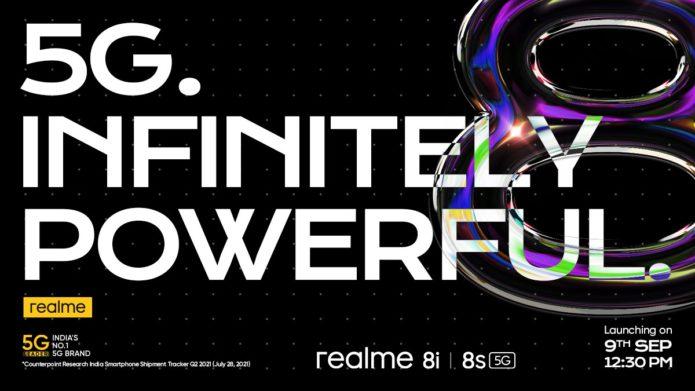 Realme 8s 5G and 8i
