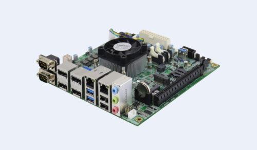 The iBASE MI989 offers AMD Ryzen Embedded V2000 APUs in a Mini-ITX form factor