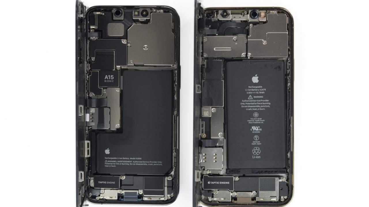 iPhone 13 Pro iFixit teardown