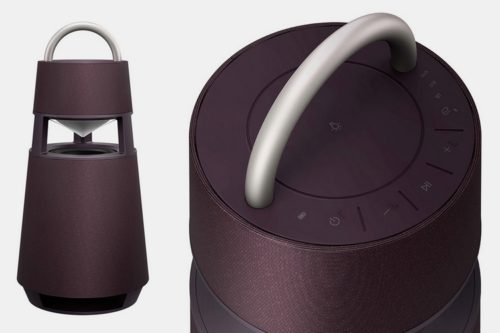 LG Xboom 360 RP4 Puts Party Speaker Features In A Refined Package