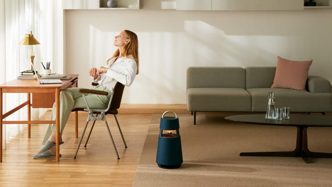 LG XBOOM 360 Bluetooth speaker