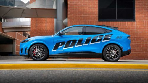 Testing shows the Mach-E based Ford Pro is fit for police duty