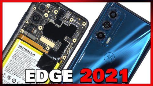 Motorola Edge (2021) undergoes teardown on video, isn't very easily repairable