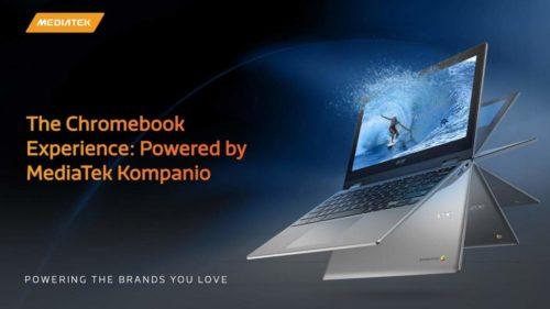 MediaTek Kompanio 900T aims for mid-range 5G Chromebooks and tablets