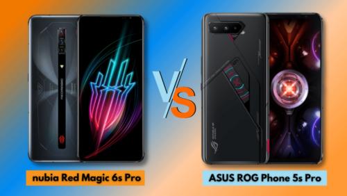 nubia Red Magic 6s Pro vs ASUS ROG Phone 5s Pro: Specs Comparison
