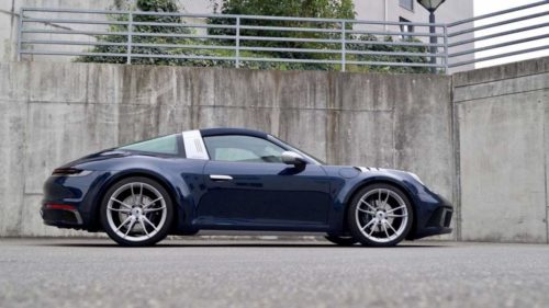 Porsche 911 Targa by Ares Design is a one-off beauty