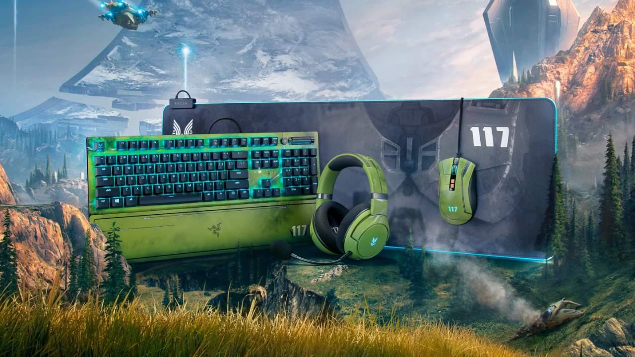 Halo Infinite edition Razer accessories