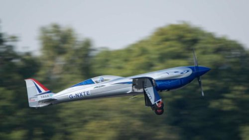 Watch Rolls-Royce's all-electric plane ace its first test flight