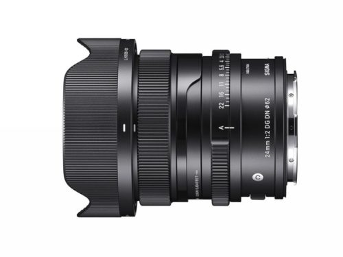 Sigma 24mm F2 DG DN Contemporary is a Premium Compact Prime Lens for Mirrorless