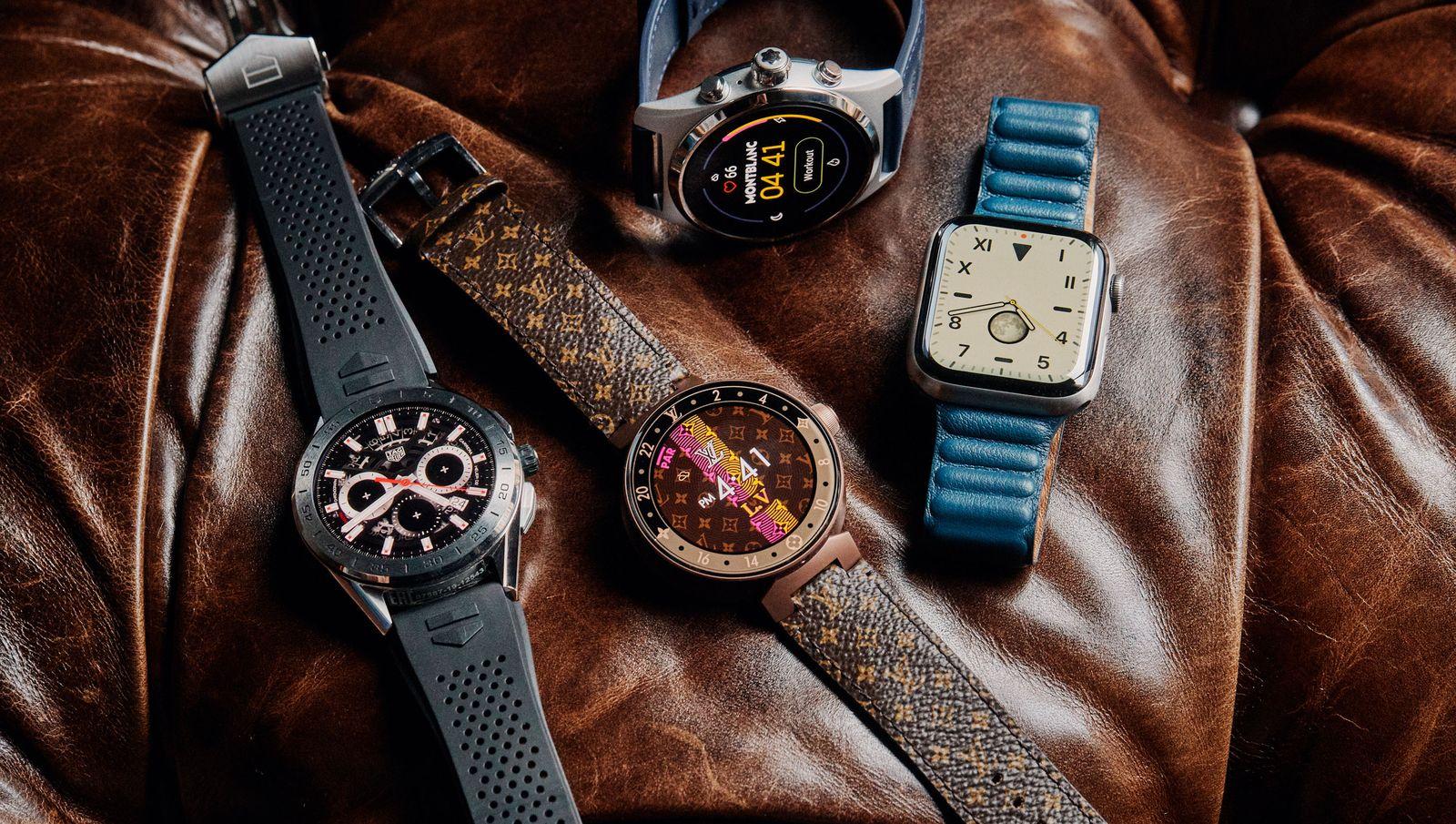 Luxury Smartwatches vs. the Premium Apple Watch