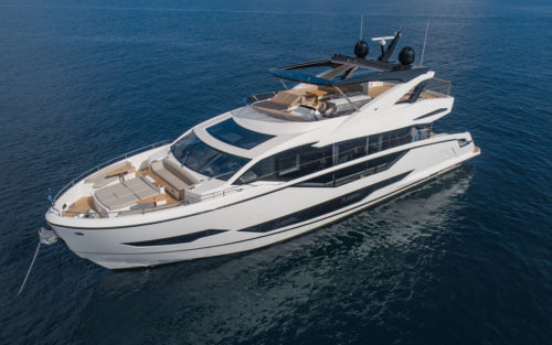Sunseeker 90 Ocean yacht tour: The most eye-catching of the 2021 models
