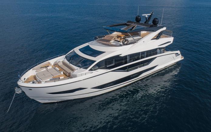 Sunseeker 90 Ocean yacht